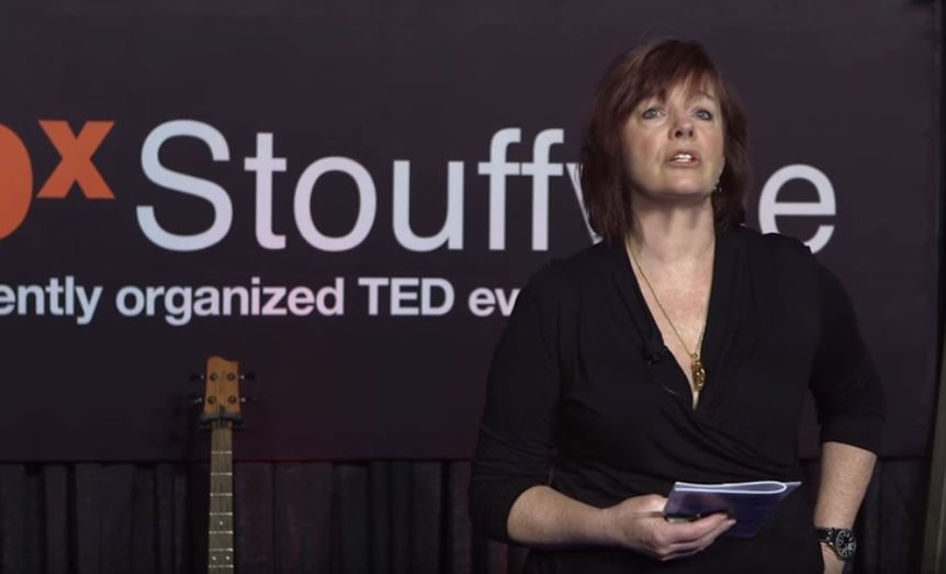 Writing Our Way Out of Trouble: Sue Reynolds at TEDxStouffville